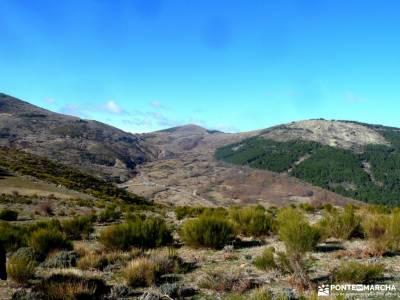 Machotas,Pico El Fraile, Tres Ermitaños; castañar tiemblo fiestas singles madrid sierra irati